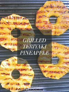 At Kikkoman we aim to make life easier with our Baste & Glaze Teriyaki sauces. Simply coat pineapple rings or fresh corn-on-the-cob in your sauce of choice, wrap in tin foil, and grill or bake to perfection.