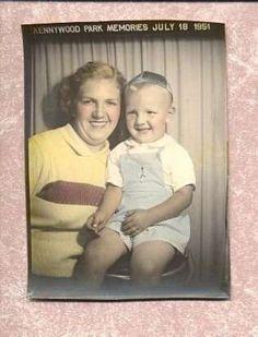 Kennywood Park Memories- July 18, 1951
