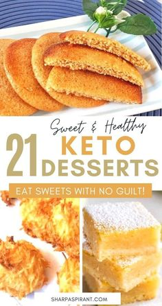 Keep your Ketogenic Diet guilt-free while indulging on your sweet cravings with these 21 Easy Keto Dessert Recipes! Quick Easy Desserts, Keto Dessert Easy, Keto Desserts, Delicious Desserts, Keto Recipes, Dessert Recipes, Yummy Food, Hot Chocolate Ice Cream, Chocolate Roll Cake