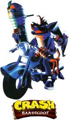 Crash Bandicoot.