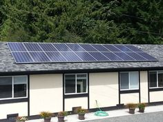 SolarPV - this is our install on the Shawnigan Lake Private School, Shawnigan Lake, BC
