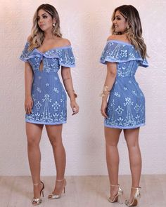 Swans Style is the top online fashion store for women. Shop sexy club dresses, jeans, shoes, bodysuits, skirts and more. Elegant Dresses, Casual Dresses, Short Dresses, Casual Outfits, Fashion Dresses, Cute Outfits, Chic Summer Outfits, Summer Dresses, Look Office