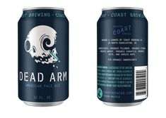 We cannot wait to get our lips on these @COASTbrewing cans.