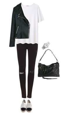 Untitled #564 by andreaellegaard on Polyvore featuring polyvore, fashion, style, T By Alexander Wang, Zara, Pull&Bear, Chanel and Marc by Marc Jacobs