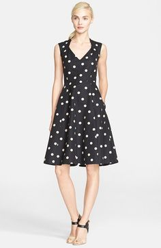 Love this polka dot fit & flare  @nordstrom