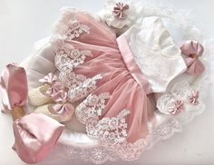 Baby Pageant Dresses, Little Girl Dresses, Baby Christening Dress, Baby Dress, Cute Baby Shoes, Cute Baby Clothes, Baby Girl Fashion, Kids Fashion, Smocked Baby Clothes
