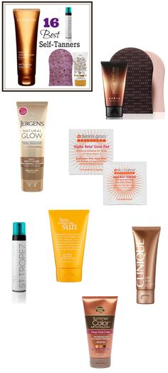Glow for the Bridal Gold with the 16 best self-tanners #wedding #beauty #self-tanners