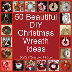 50 beautiful Christmas Wreath Ideas and Inspiration