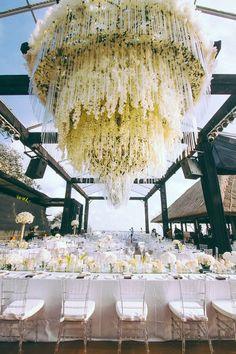 Floral Lines Luxury Wedding Decor Bali