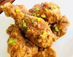 Image Peanut Butter Chicken, Masala Spice, Indian Food Recipes, Chicken Wings, Cravings, Spices, Vegetarian, Meat, Life