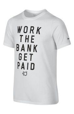 Nike  KD - Work The Bank Get Paid  Dri-FIT T-Shirt (Little Boys 97c264b9c