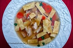 Gourmet Girl Cooks: Chicken Noodle Soup - Low Carb & Grain Free