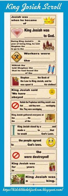 Bible Fun For Kids: King Josiah