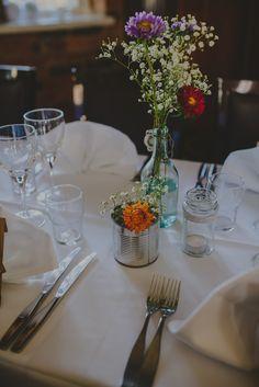 Rustic wedding decoration // Hääkoristelu rustiikkisissa häissä