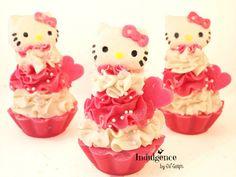 Hello Kitty Soap Cupcake- Pink Berry Mimosa
