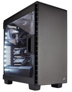 Corsair Launches High-Performance Carbide 400Q and 400C PC Cases at CES 2016 - TECKKNOW