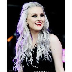 Perrie Edwards ❤ liked on Polyvore featuring beauty products, haircare, hair, little mix, perrie, perrie edwards, girls and red hair care