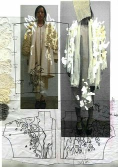 20 ideas for fashion portfolio design layout central saint martins Sketchbook Layout, Sketchbook Inspiration, Design Inspiration, Sketchbook Ideas, Moodboard Inspiration, Sketchbook Drawings, Fashion Design Sketchbook, Fashion Sketches, Drawing Fashion