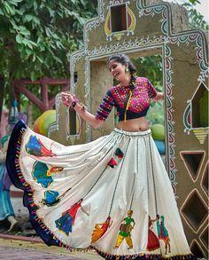 White and Blue soft cotton garba lehenga choli. This garba lehenga choli has embroidery and hand work. #rutbaa #salwarkameez #salwarsuit #salwarsuits #indianwear #indianfashion #fashion #salwar #onlineshopping #lehenga #kurti #ethnicwear #indianwedding #designer #cotton #dressmaterial #ethnic #saree #kurtis #anarkali #suits #instafashion #dupatta #punjabisuits #partywear #indianbride #india #Garba #lehengacholi #designersuits #salwarkameezsuit
