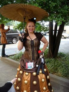Awesome Dalek cosplay