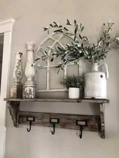 Excellent rustic farmhouse living room are offered on our internet site. Take a look and you wont be sorry you did. Farmhouse Side Table, Farmhouse Windows, Country Farmhouse Decor, Vintage Farmhouse, Farmhouse Ideas, Modern Farmhouse, Farmhouse Style, Country Kitchen, Living Room Designs