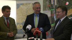Auf Einladung von LH Günther Platter am 2.5.2014 konnte sich eine vom bayerischen Verkehrsminister Joachim Herrmann angeführte Delegation aus Bayern über die Fortschritte beim BBT überzeugen.