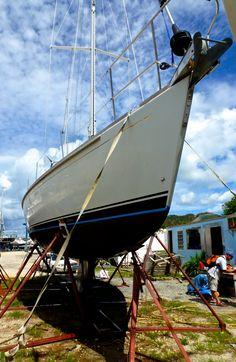 Moriel on the hard - Jolly Harbor Antigua