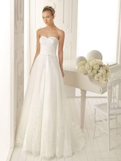 Luxurious Lace A-line Style With Bow Waistband New Style Sweetheart Wedding Dress | A-line Wedding Dresses 2012 Zebra BEAUTIFUL!!!
