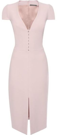 e4fd889c4ba Alexander McQueen Hook Detail Pencil Dress