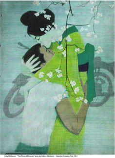 """Coby Whitmore """"The Eternal Blossom"""" Saturday Evening Post, 1961"""