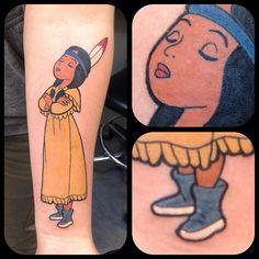 "24 curtidas, 1 comentários - Very Special Tattooing (@vstattooing) no Instagram: ""Tigerlily 😊 #tigerlily #tigerlilytattoo #disney #disneytattoo #tattooart #tattooartwork #tatuointi…"""