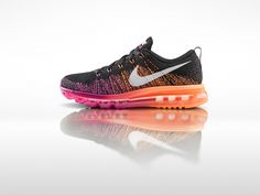 Nike Fly Knit Air Max 2014 are the sneaker for you for any long bike ride or walk. Take our word for it and last the entire day with your triathlete. #LandingMrRight