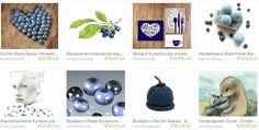 Webpromotion für Ihren Shop: Blueberries on Etsy - Fruit Gifts