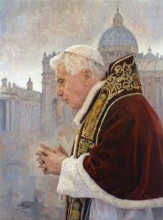 """Raúl Berzosa """"Benedicto XVI""""."""