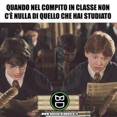 Un dramma in classe Harry Potter Quiz, Harry Potter Tumblr, Harry Potter Anime, Harry Potter World, Melanie Martinez, Funny Photos, Funny Images, Verona, Italian Memes