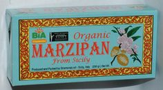 THE best marzipan ever - and it's organic...
