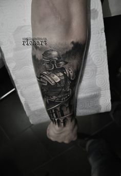 tatuajes romanos gladiadores tattoo consilium richart moreno tarragona tarraco vilaseca