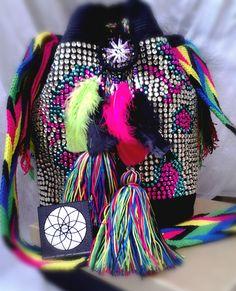 contacto: coh.accesorios@gmail.com atrevete con brillos COH + mochilas 100%wayu.  PREGUNTA POR MAS DISEÑOS :)