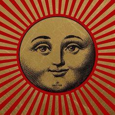 Fornasetti Sole Raggiante Tray (detail)