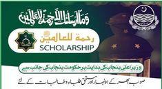 Rehmatul Lil Alameen Scholarship For Inter And Undergraduate Apply Online   Murtazaweb.com