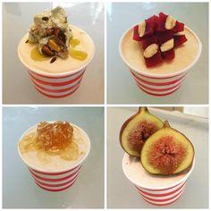 [Homemade] No Churn Mediterranean Inspired Ice Cream Flavors