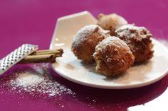 """""""Bezglutenowe pączki z cynamonowym cukrem pudrem""""-bezglutenowa kuchnia w..."""