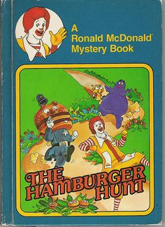 had & loved this book so much, I love foodie illustrations and loved seeing all my fave Mcdonalds characters, especially Grimace the shake inspired character!<3