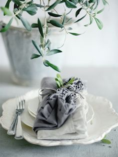 .Beautiful handmade frill napkins handmade by Clarabelle Interiors