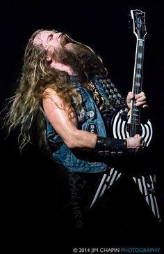 Zakk Wylde with the Experience Hendrix Tour 2014 ACL Live, Austin, TX 9/28/2014 by Jim Chapin Photography