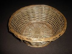 Wicker Basket Diameter 41cm Height 18cm