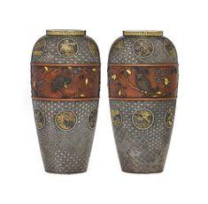 Japanese Beauty, Japanese Art, Geometric Designs, 19th Century, Objects, Pairs, Artist, Period, Ethnic