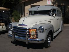 CLEAN 1949 CHEVY PANEL TRUCK