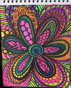 ColorIt Colorful Flowers Volume 1 Colorist Lisa Lufton Lubrano Adultcoloring Coloringforadults