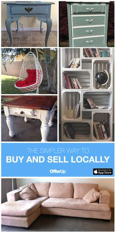 The Simplest Way to Buy and Sell Locally. OfferUp is the largest mobile marketplace for local buyers and sellers. With just your phone, you can post something for sale, search and browse items nearby. Browse thousands of daily listings for great deals on clothes, furniture, cell phones, electronics, baby and kids items, cars, jewelry, and more.